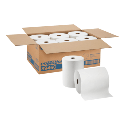 "enMotion by GP Pro Paper Towel Rolls, 10"" x 800', White, Pack Of 6 Rolls"
