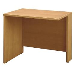 "Bush Business Furniture Components Return Bridge, 36""W, Light Oak, Standard Delivery"