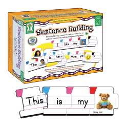 Key Education Sentence Building Open-Ended Learning Game, Grades K - 2