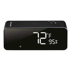 """Memorex® Wireless Digital Clock Radio, 2-11/16""""H x 2-1/16""""W x 6-7/8""""D, Black"""