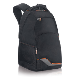 "Solo® Zippered Front Backpack For 16"" Laptops, Black"
