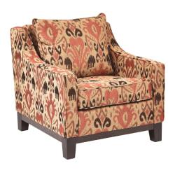 Ave Six Regent Chair, Arizona Rust/Dark Espresso
