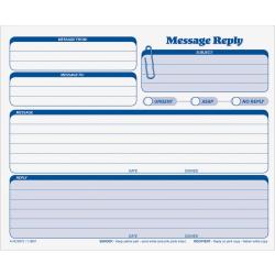 "TOPS Rapid Letter Carbonless Snap-Off Sets - 3 PartCarbonless Copy - 8 1/2"" x 7"" Sheet Size - White, Canary, Pink - Blue Print Color - 50 / Pack"