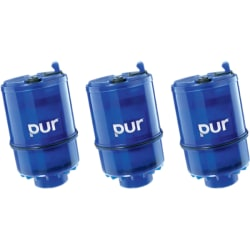 Pur Faucet Mount Replacement Water Filter - mineralclear 3 Pack - Blue