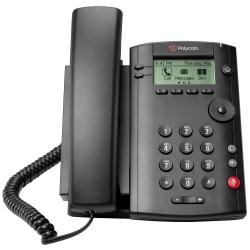 Polycom® VVX 101 VoIP Business Media Phone, G2200-40250-025