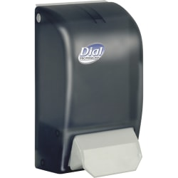 Dial Professional Foam Hand Soap Dispenser - Manual - 1.06 quart Capacity - Smoke - 1Each