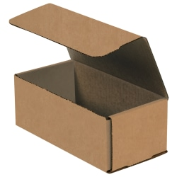 """Office Depot® Brand Corrugated Mailers, 10"""" x 4"""" x 2"""", Kraft, Pack Of 50"""