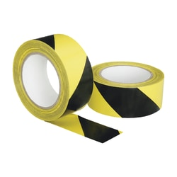 "SKILCRAFT® Floor Safety Marking Tape, 2"" x 108"", Black (AbilityOne 7510-01-617-4251)"