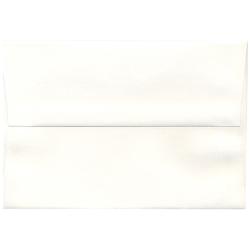 """JAM Paper® Booklet Invitation Envelopes, A8, 5 1/2"""" x 8 1/8"""", Strathmore Bright White, Pack Of 25"""
