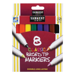 Sargent Art Classic Markers Broad Tip