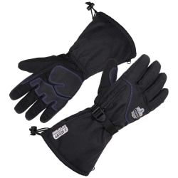 Ergodyne ProFlex 825WP Thermal Waterproof Winter Work Gloves, X-Large, Black