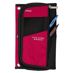 Five Star® Organizer Pencil Pouch, Assorted Colors (No Color Choice)