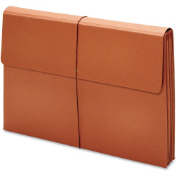 """Pendaflex Expanding Tabloid Wallets - Tabloid - 11"""" x 17"""" Sheet Size - 875 Sheet Capacity - 3 1/2"""" Expansion - 19 pt. Folder Thickness - Brown - Recycled - 1 Each"""
