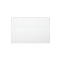 """LUX Invitation Envelopes With Peel & Press Closure, A9, 5 3/4"""" x 8 3/4"""", White, Pack Of 500"""