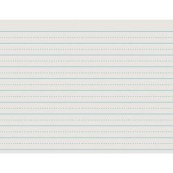 """Pacon® Alternate Dotted Rule Newsprint Paper, 8-1/2"""" x 11"""", 30 Lb, White, Ream Of 500 Sheets"""