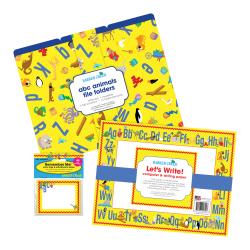 Barker Creek Get Organized Kit, Letter Size, ABC Animals