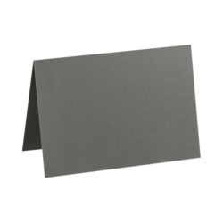 "LUX Folded Cards, A6, 4 5/8"" x 6 1/4"", Smoke Gray, Pack Of 1,000"