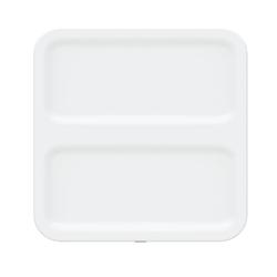 "perch™ by Urbio® Wally Wall Mount, 10""H x 10""W x 5/16""D, White"