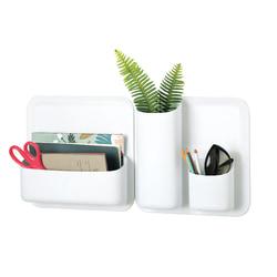 "perch™ by Urbio® Starter Kit, 5 Piece, 10 4/16""H x 12 7/16""W x 49/16""D, White"