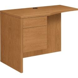 HON® 10500 Series™ Laminate Desk Ensemble Return, Harvest Cherry