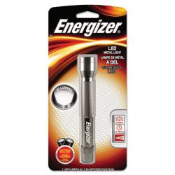 """Energizer® LED Flashlight, 5 2/3"""" x 9/10"""", Gray"""