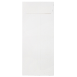"JAM Paper® Open-End Policy Envelopes, #14, 5"" x 11 1/2"", Strathmore Bright White, Pack Of 25"