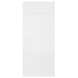 JAM Paper® Policy Envelopes, #14, Gummed Seal, Strathmore Bright White, Pack Of 25