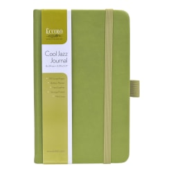 "Eccolo™ Cool Jazz Journal, 3 1/2"" x 5"", Lined, 192 Pages, Assorted Colors"