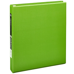 """[IN]PLACE® Heavy-Duty 3-Ring Binder, 1"""" D-Rings, Army Green"""