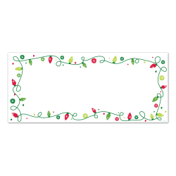 Great Papers! String of Lights No. 10 Envelopes, 40 Ct