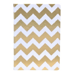"""Eccolo™ Style Journal, 6"""" x 8"""", Gold"""
