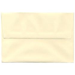 "JAM Paper® Booklet Invitation Envelopes, A8, 5 1/2"" x 8 1/8"", Strathmore Ivory, Pack Of 25"