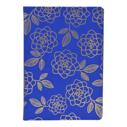 "Eccolo™ Style Journal, 6"" x 8"", Gold Floral"