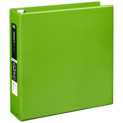 """Office Depot® Brand Heavy-Duty D-Ring Binder, 2"""" Rings, Army Green"""
