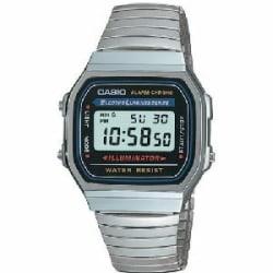 Casio A168W-1 Classic Wrist Watch - Men - Casual - Digital - Quartz