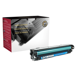 Clover Imaging Group CTG5525C HP Remanufactured Toner Cartridge Replacement For HP 650A Cyan