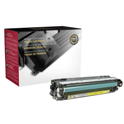 Clover Imaging Group™ CTG5220Y Remanufactured Yellow Toner Cartridge Replacement For HP 307A