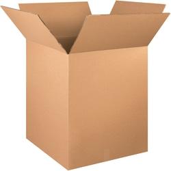 "Office Depot® Brand Double-Wall Heavy-Duty Corrugated Cartons, 24"" x 24"" x 30"", Kraft, Box Of 5"