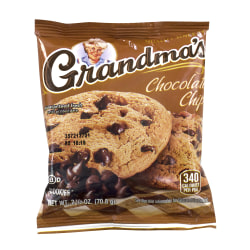 Grandma's Big Chocolate Chip Cookies, Pack Of 2, Box Of 60 Packs