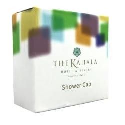 Kahala Polyethylene Shower Caps, White, Pack Of 200