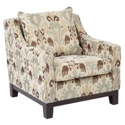 Ave Six Regent Chair, Arizona Oyster/Dark Espresso