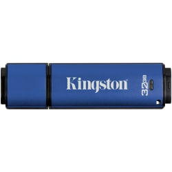 Kingston DataTraveler Vault Privacy USB 3.0 Flash Drive, 32GB