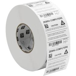 """Zebra Label, E45078, Polyester 3"""" x 1"""" Thermal Transfer Zebra Z™Ultimate 3000T, White, 1"""" Core"""