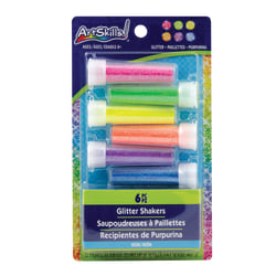 Artskills® Glitter Shakers, Assorted Neon Colors, Pack Of 6