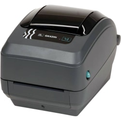Zebra® GK420T Monochrome (Black And White) Thermal Transfer Printer