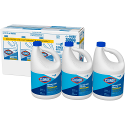 Clorox® Ultra Germicidal Bleach, 121 Oz Bottle, Case Of 3