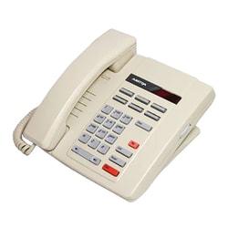 Aastra M8009 Corded Single-Line Phone, Ash, Refurbished