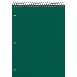 "National® Brand Porta-Desk Notebook, 8 1/2"" x 11 1/2"", 1 Subject, College Ruled, 80 Sheets"
