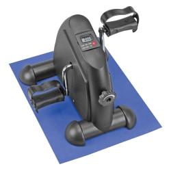 "DMI® Mini Exercise Bike, 13 1/2""H x 16""W x 11 5/8""D, Black"