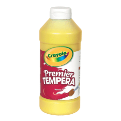 Crayola® Premier Tempera Paint, Yellow